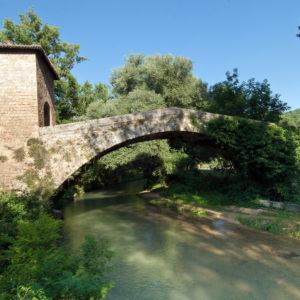 immagine ponte di san francesco_Subiaco_Fiume Aniene