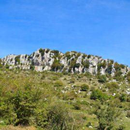 Monte Guadagnolo nel Parco Regionale dei Castelli Romani