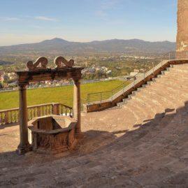 Palestrina nel Parco Regionale dei Castelli Romani