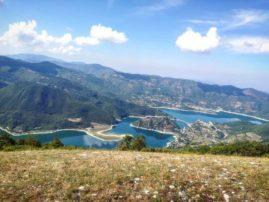 Lago del Turano, Riserva Monti Navegna e Cervia