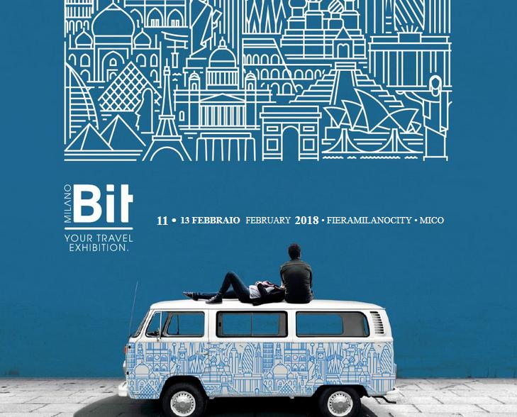 Il 12 Febbraio siamo alla BIT di Milano!