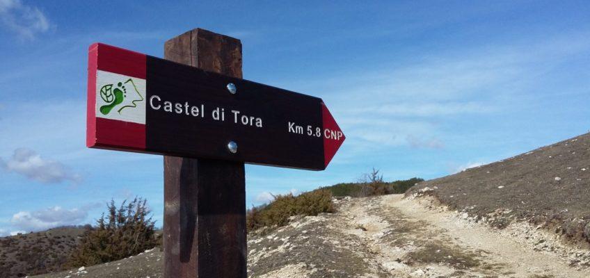 Nuova posa di Frecce sulla Tappa 10. Orvinio-Castel di Tora