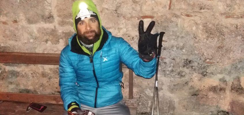 Ludovisi racconta la sua esperienza solitaria sul Cammino Naturale a La Gazzetta della Sport