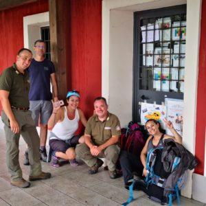 Seconda Tappa, seconda Area Protetta Regionale, con delle guide d'eccezione: i Guardiaparco!