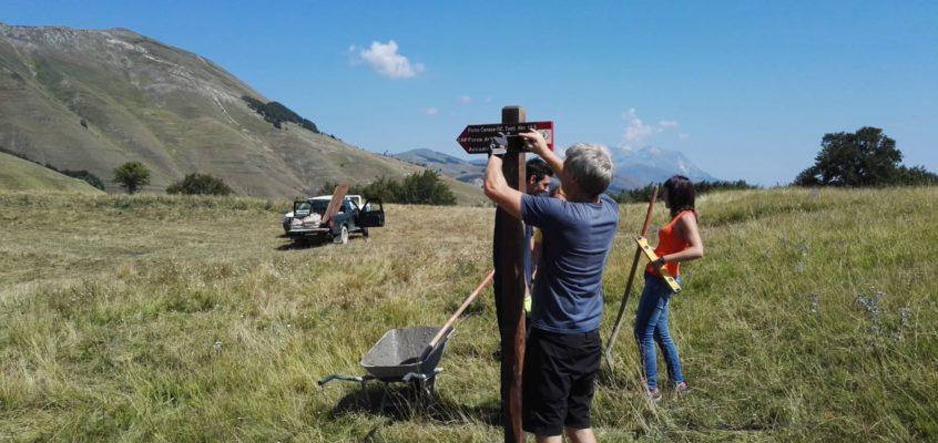 Segnaletica verticale tra Cittareale e Accumoli: il CNP invita a visitare questi luoghi stupendi