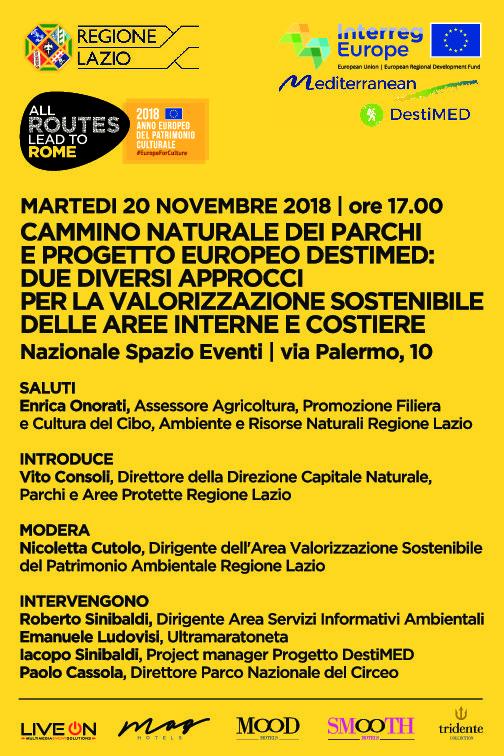 Riflessione sui differenti metodi di promozione delle aree interne e costiere da parte della Regione Lazio