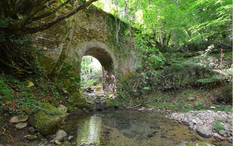 Monumento Naturale Valle delle Cannuccete Acquedotto